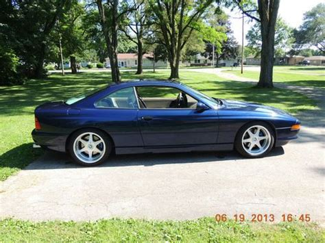 how can i learn about cars 1992 bmw 5 series interior lighting purchase used 1992 bmw 850i in yorktown indiana united states for us 14 999 00