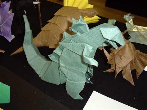 how to make an origami godzilla dinosaur