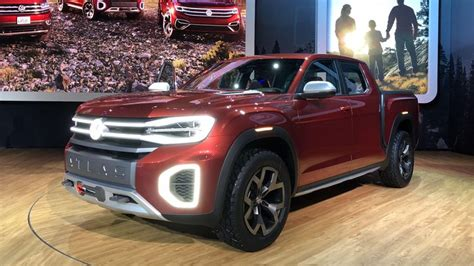New Volkswagen Truck by Vw S Atlas Truck Concept Is Real But Don T Get