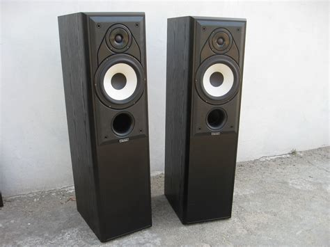 pair of mission 703 floor standing speakers for sale