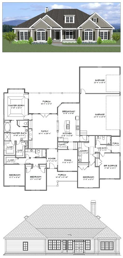 floor plans 5 bedroom house best 25 4 bedroom house plans ideas on house