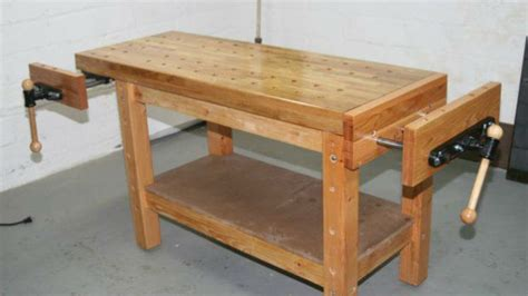make a woodworking bench build a woodworkers workbench that can handle any project
