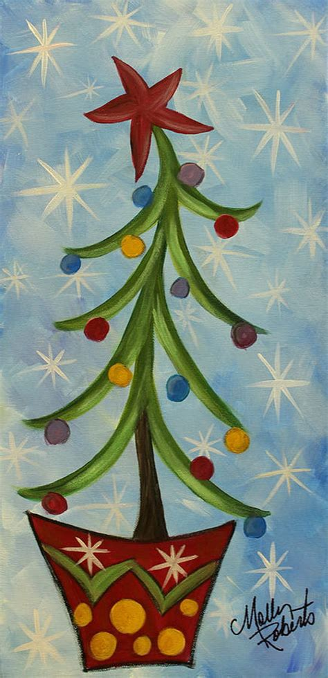 celebrate it tree 15 easy canvas painting ideas for noted list