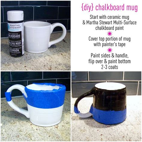 chalkboard paint for mugs project chalkboard mugs as gifts