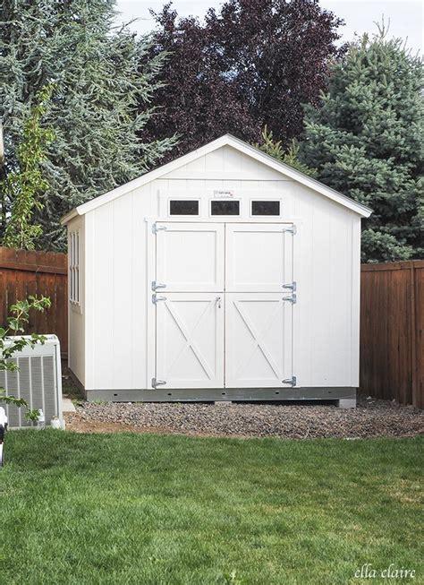 cobertizo oficina she shed install backyard ideas pinterest jardines