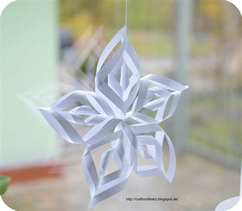 paper ornament crafts crafts mit herz paper snowflake ornaments