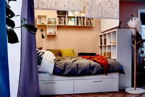 ikea bedroom storage ideas 15 ikea storage hacks space savers for small bedrooms