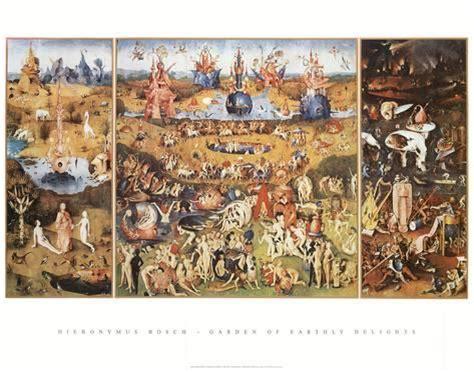 Der Garten Hieronymus Bosch by Der Garten Der L 252 Ste Poster Hieronymus Bosch Bei