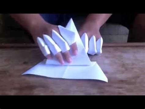 how to make origami gloves how to make a paper gauntlet