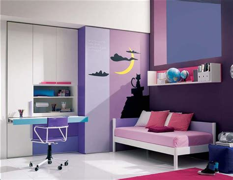 cool furniture for bedrooms cool purple and pink bedrooms with modern