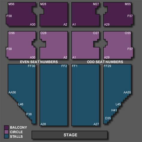 opera house theatre blackpool seating plan ferguson tickets for blackpool opera house on