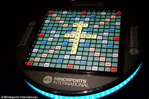 digital scrabble board want to show your scrabble skills the 163 20 000 board