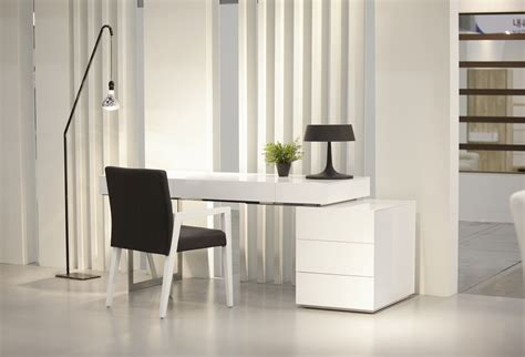 modern desks with storage white contemporary office desk with storage oakland