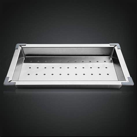 kitchen sink tray 304 stainless steel kitchen sink colander drainer draining