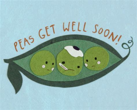 make your own get well soon card peas get well card fair trade winds