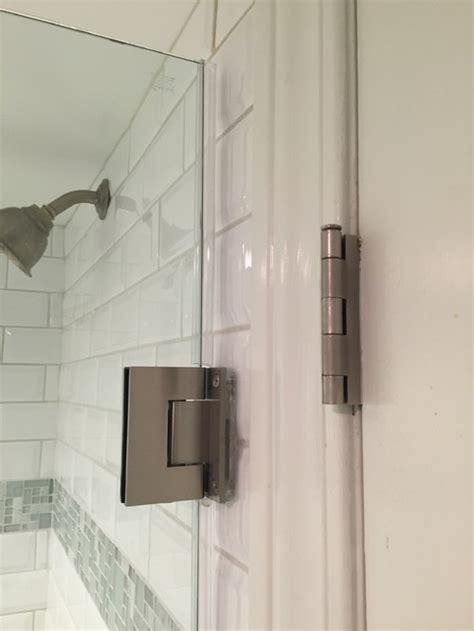 glass shower door hinge gasket frameless shower door hinge gasket how to install your