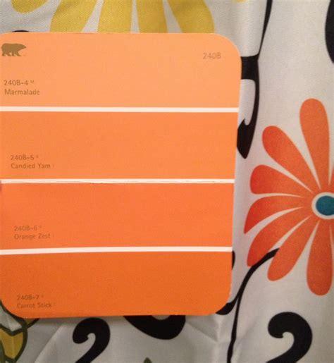 behr paint colors orange glow behr orange color pallet leaning toward carrot stick