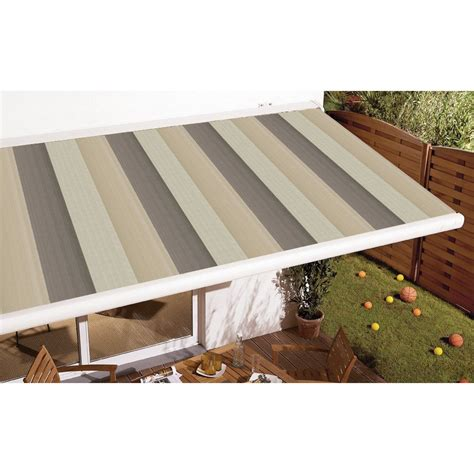 store banne motoris 233 gold coffre int 233 gral 4 x 3 5 m t14 villette naturel leroy merlin