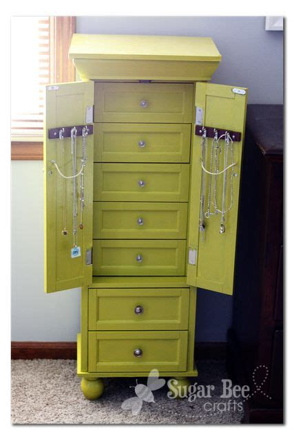 make jewelry armoire 17 best ideas about standing jewelry box on