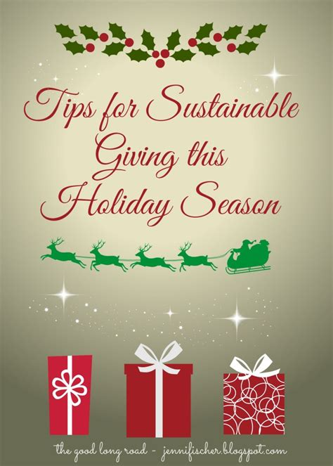 sustainable gifts tips for sustainable gift giving this season
