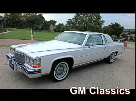 1985 Cadillac Coupe by 1985 Cadillac Fleetwood Brougham Coupe D Elegance