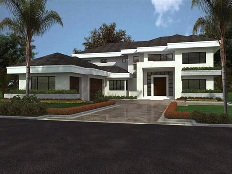 modern house blueprints design modern house plans 3d