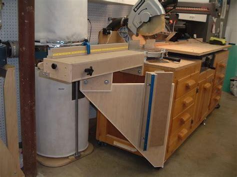 sawmill creek woodworking miter saw radial arm saw cabinet workshop projects