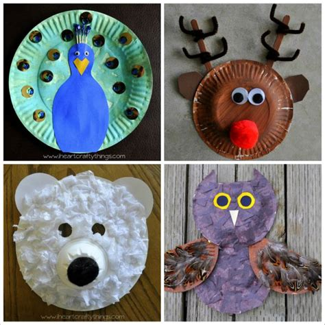 how to make craft with paper plates i crafty things 20 paper plate animal crafts for