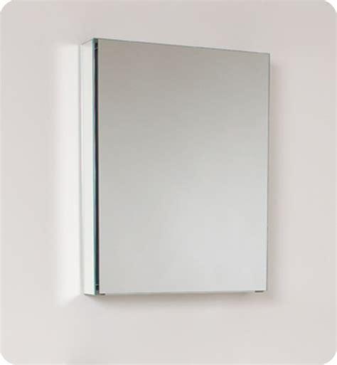 fresca 20 inch wide bathroom medicine cabinet with mirrors
