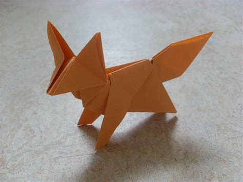 3d origami fox origami fox the aren t in but the