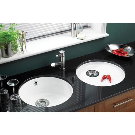 white porcelain kitchen sinks undermount astracast lincoln white ceramic undermount kitchen
