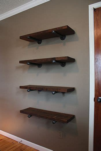 galvanized pipe bookshelves best 25 galvanized pipe shelves ideas on iron