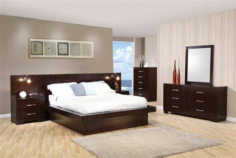 modern platform bedroom sets modern platform cappuccino finish bedroom set free