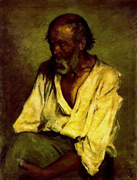 picasso paintings realism the fisherman 1895 pablo picasso wikiart org