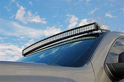 led light bars for trucks 50 quot road led light bar windshield mount for gm