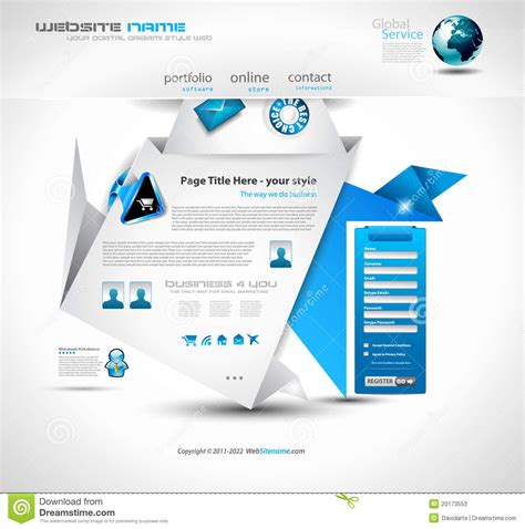 best origami websites origami website design stock photos image
