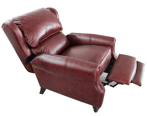 leather recliner chairs barcalounger treyburn ii top grain leather recliner chair