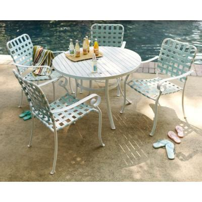 turquoise dining set hton bay summerville 5 patio dining set in