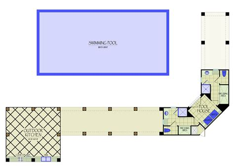 outdoor kitchen floor plans pool house floor plans or by kvh design pool hse outdoor