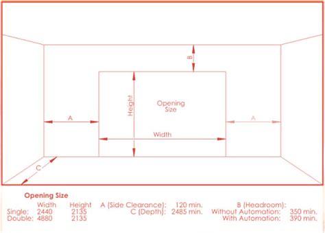overhead garage door dimensions how repair garage door 2017 2018 best cars reviews