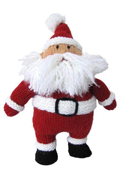 knitting store santa hearty santa pattern