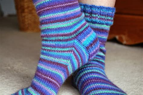 simple sock knitting patterns beginner winwick basic 4ply sock pattern and tutorial easy