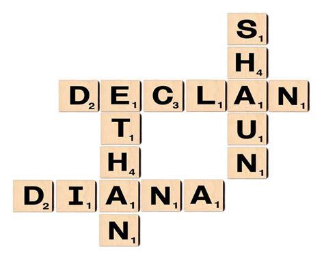 scrabble letter names 25 best ideas about scrabble letters on