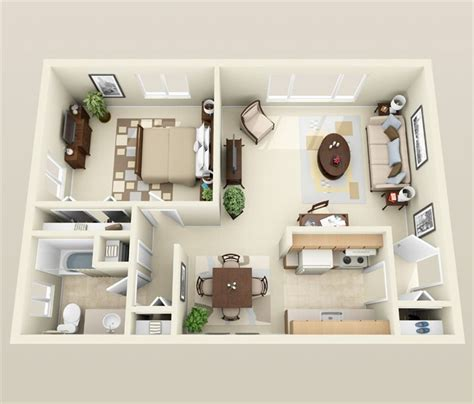 1 bedroom flat designs 1 bedroom apartment house plans