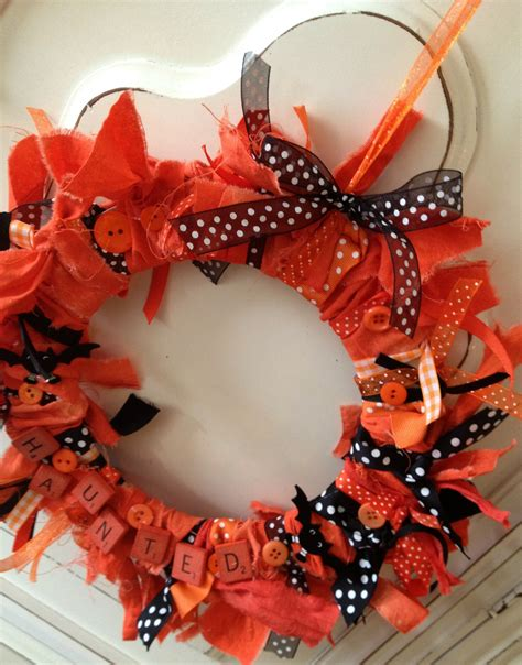 rit scrabble diy rag wreath with rit dye