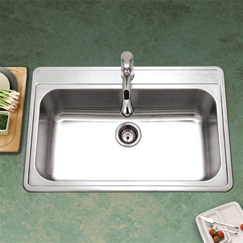 how wide is a kitchen sink premiere gourmet series stainless steel topmount kitchen