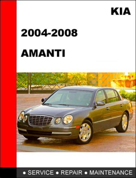 free car repair manuals 2009 kia amanti auto manual kia amanti 2004 2008 service repair manual download manuals