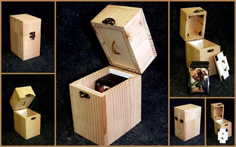 how to make a card deck box magic the gathering diy deck box