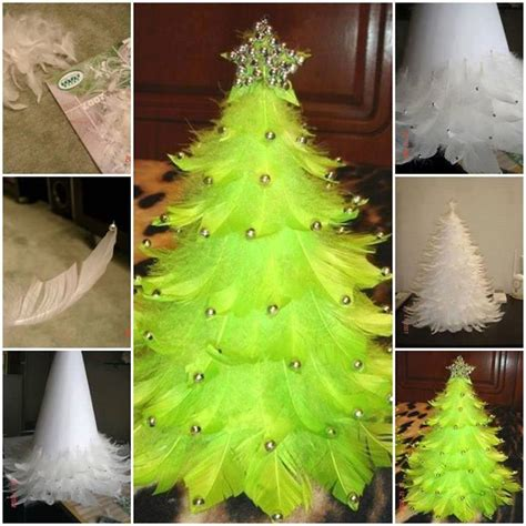tree decorations diy diy feather tree home design garden