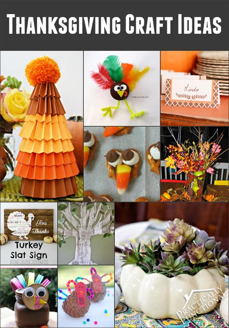 thanksgiving crafts ideas functional crafts